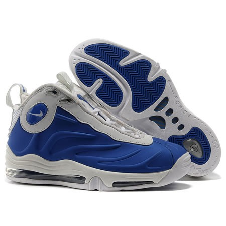 Nike Total Air Foamposite Max Silver Blue Hot Sale