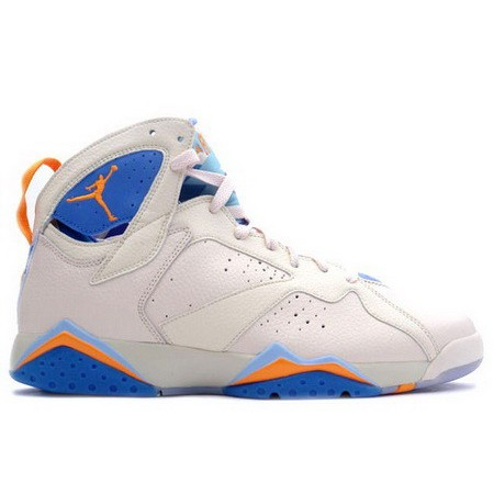 Nike Air Jordan Retro 7 Pearl White Pacific Blue
