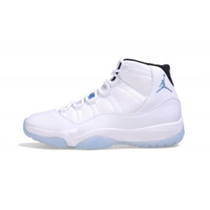 Nike Air Jordan 11 Legend Blue White Black-Legend Blue 378037-117