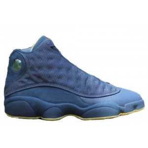 Nike Air Jordan Retro 13 Squadron Blue Electric Yellow-Black