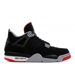 Air Jordan 4 Bred Black