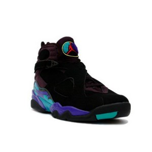 Nike Air Jordan Retro 8 Black Aqua