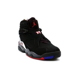 Nike Air Jordan Retro 8 PlayOffs Black Varsity Red