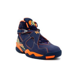 Nike Air Jordan Retro 8 Navy Orange