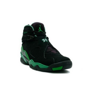 Nike Air Jordan Retro 8 Sugar Ray Black Green